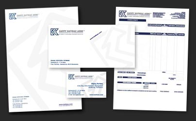 Corporate stationery for businessware provider company