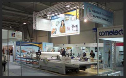 Exhibition stand banners design